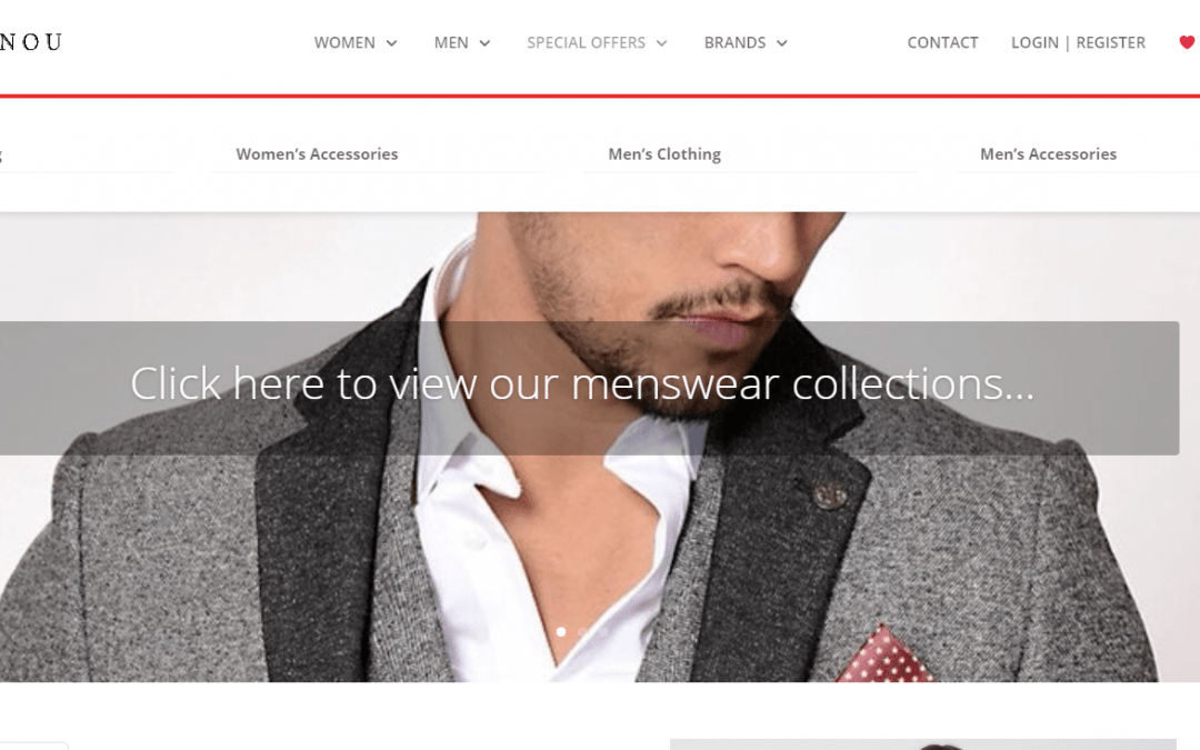 New website for local fashion retailer has been launched